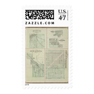 Corporate Town of Fowler, Benton Co Postage