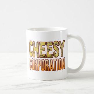 Corporation Blue Cheesy Coffee Mug