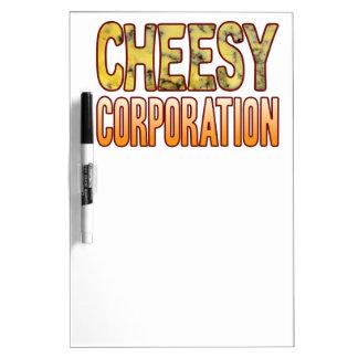 Corporation Blue Cheesy Dry-Erase Board