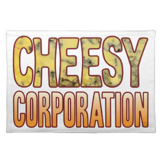 Corporation Blue Cheesy Placemat