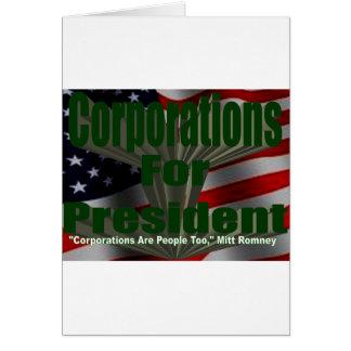 Corporations 4 President Card