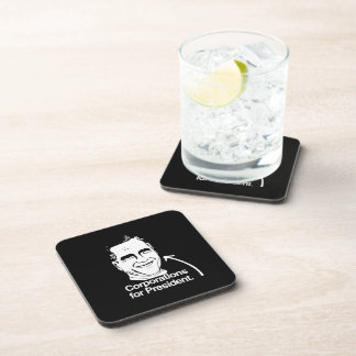 CORPORATIONS FOR PRESIDENT -.png Drink Coasters