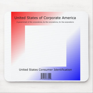 Corporations Taking Control by Kenneth Yoncich Mouse Pad