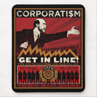 Corporatism Mousepad