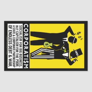 Corporatism Stickers