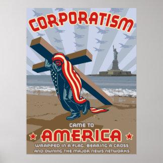 Corporatismo Póster