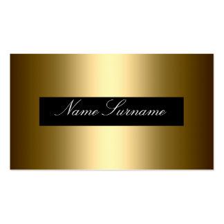 Corporativo elegante del extracto negro del oro tarjetas de visita
