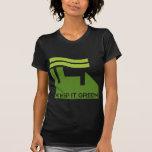 Corporativo guarde el verde camisetas