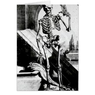 Corporis esqueléticos del humani de Anatomia Tarjeta De Felicitación