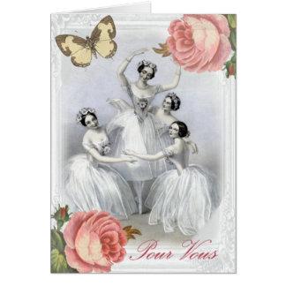 Corps de ballet card