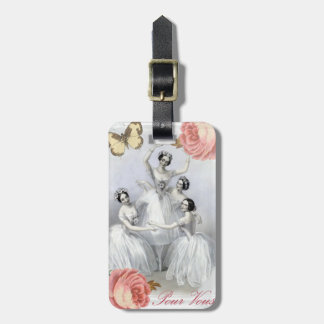 Corps de ballet tag for luggage