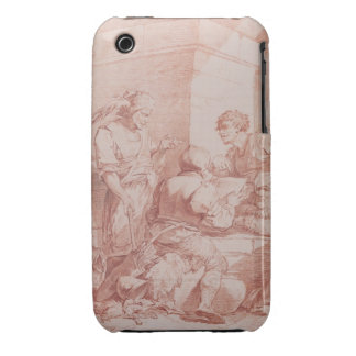 Corps de Garde Barbarians Defeated by a Book re iPhone 3 Case-Mate Cases
