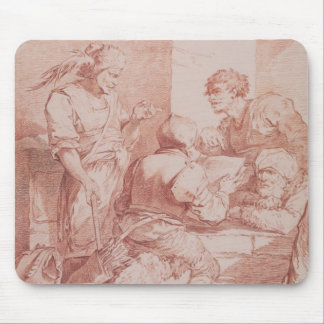 Corps de Garde (Barbarians Defeated by a Book) (re Mouse Pad