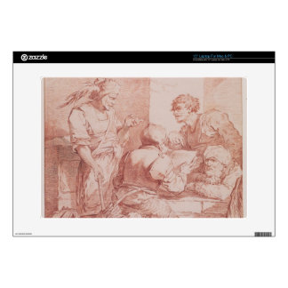 Corps de Garde (Barbarians Defeated by a Book) (re Laptop Skins