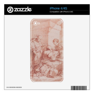 Corps de Garde (Barbarians Defeated by a Book) (re Skins For iPhone 4
