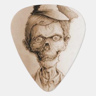 Corpse and Skull Logo Guitar pick
