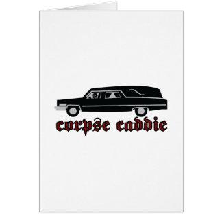 Corpse Caddie Card