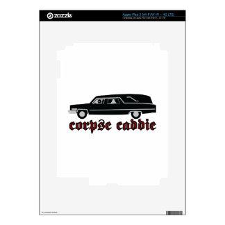 Corpse Caddie iPad 3 Decals