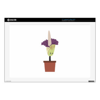 "Corpse Flower Decals For 17"" Laptops"