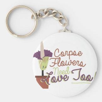 Corpse Flowers Keychain