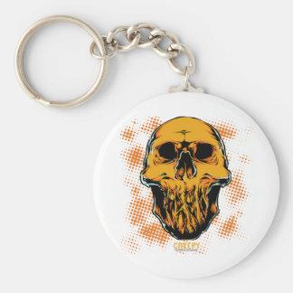 Corpse Head Keychain