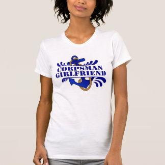 Corpsman Girlfriend, Anchors Away! T Shirt