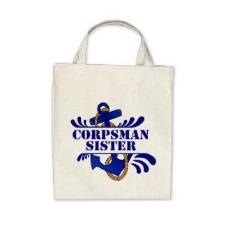 Corpsman Sister, Anchors Away! Bags