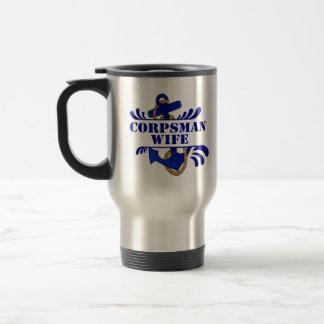 Corpsman Wife Anchors Away Coffee Mug