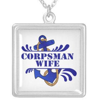 Corpsman Wife Anchors Away Pendants