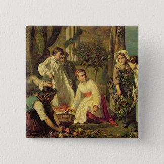 Corpus Christi, 1855 Button
