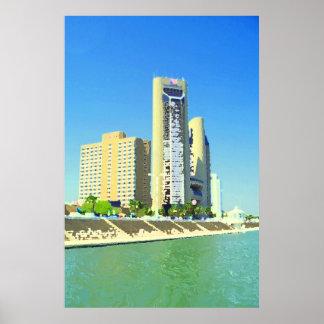 Corpus Christi Bayfront Poster