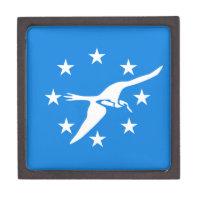 Corpus Christi City Flag Premium Gift Box
