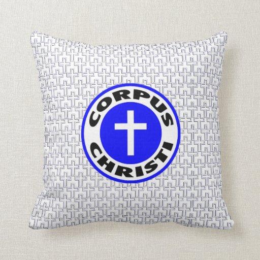 Corpus Christi Cojines