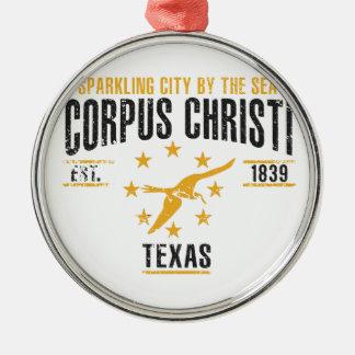 Corpus Christi Metal Ornament