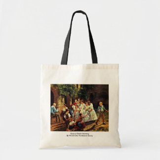 Corpus Christi Morning Canvas Bags