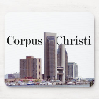 Corpus Christi Skyline Mousepad