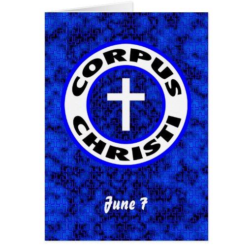 Corpus Christi Tarjetas