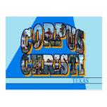 Corpus Christi Texas Large Letter Postcard