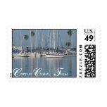 Corpus Christi, Texas Marina Postage Stamps