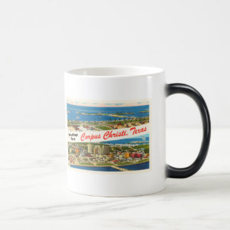 Corpus Christi Texas TX Vintage Travel Souvenir Magic Mug