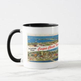 Corpus Christi Texas TX Vintage Travel Souvenir Mug