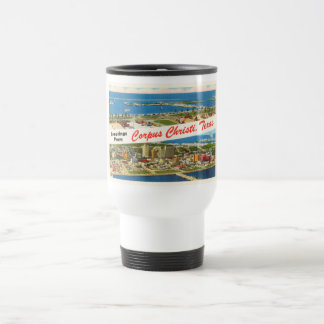 Corpus Christi Texas TX Vintage Travel Souvenir Travel Mug