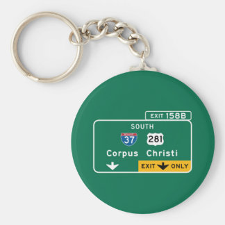Corpus Christi, TX Keychains