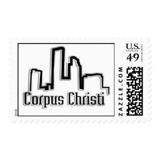 Corpus Christi Tx  Postage Stamps
