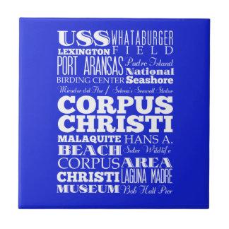 Corpus Christi único, idea del regalo de Tejas