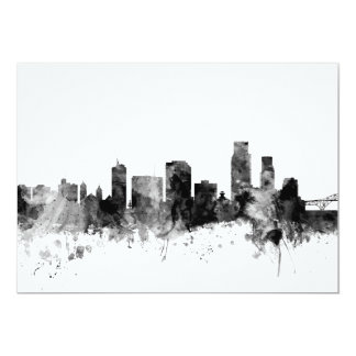 Corpus Christie Texas Skyline Card