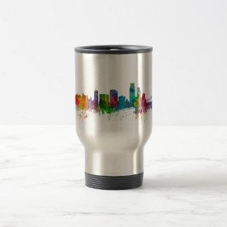 Corpus Christie Texas Skyline Travel Mug