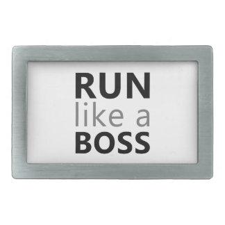 Corra como Boss Hebilla Cinturón