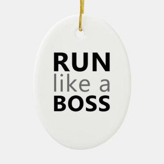 Corra como Boss Ornamentos De Reyes