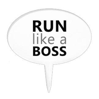 Corra como Boss Palillos De Tarta